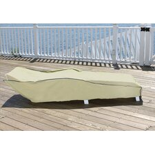 Durable Outdoor Patio Vinyl Chaise Lounge Chair Cover
