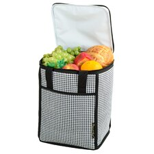 Houndstooth Tall Insulated Cooler