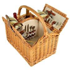 Vineyard 2 Person Picnic Basket