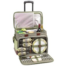 DePinot e Picnic Cooler for Four with Wheels