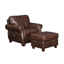Monterey Arm Chair and Ottoman