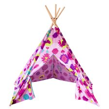 Pink Teepee Play Tent