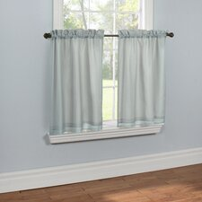 Rhapsody Lined Voile Tier (Set of 2)
