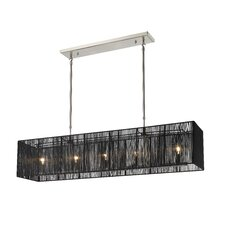Aura 5 Light Kitchen Island Pendant