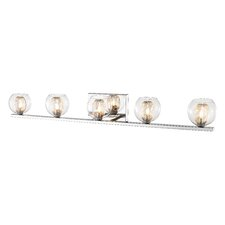 Auge 5 Light Vanity Light