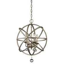 Acadia 4 Light Foyer Pendant