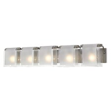 Zephyr 5 Light Vanity Light