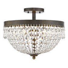 Danza 4 Light Semi Flush Mount