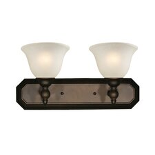 Clayton 2 Light Vanity Light