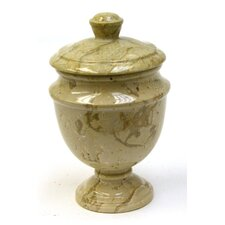 Sahara Beige Marble Canister