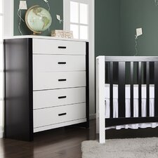 Cafeina 5 Drawer Dresser
