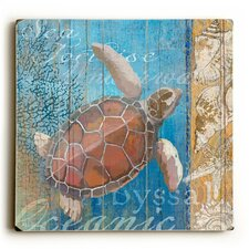 Turtle and Sea Wall Décor
