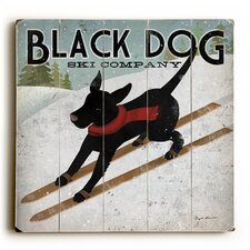 Black Dog Ski Company Wall Décor