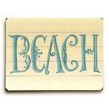 Beach Beauty Wall Décor