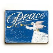 Peace Wooden Wall Decor