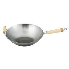 "Helen's Asian Kitchen 14"" Carbon Steel Wok"
