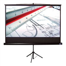 "Matte White 110"" Diagonal Portable Projection Screen"