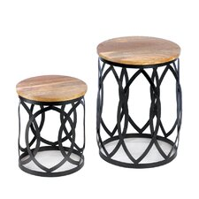 Signature Series 2 Piece Nesting Table Set