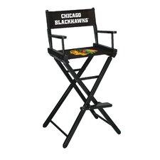 NHL Bar Height Directors Chair