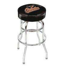 "MLB 30"" Swivel Bar Stool with Cushion"
