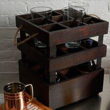 Stackable Crate 9 Bottle Rack