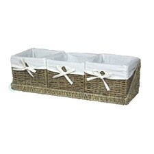 Shelf Basket with Tray