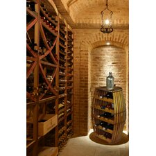 17 Bottle Wine Rack