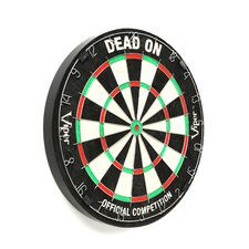 Dead-On Bristle Dart Board