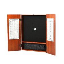 Metropolitan Cinnamon Steel-Tip Dartboard Cabinet