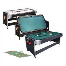 "Pockey™ 3 in 1 6'8"" Game Table"