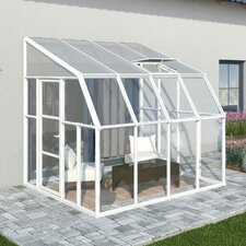 Nature Sun Room 2 8 Ft. W x 10 Ft. D Polycarbonate Greenhouse