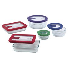 No Leak Lids 5 Piece Storage Set