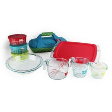 Pyrex 12 Piece Ultimate Glass Prep, Bake & Store Set