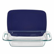 Easy Grab 2 Qt. Oblong Baking Dish with Cover