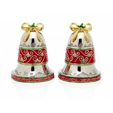 Bell Salt and Pepper Shakers Set