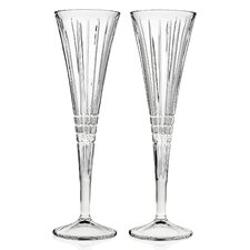 Illusion Champagne Toasting Flute Glass (Set of 2)