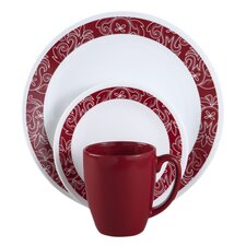 Corelle Livingware™ Bandhani 16 Piece Dinnerware Set