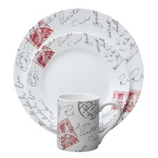 Impressions™ Sincerely Yours 16 Piece Dinnerware Set