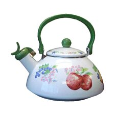 Impressions Chutney 2.5 Qt. Whistling Tea Kettle
