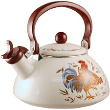 Impressions Country Morning 2-qt. Whistling Tea Kettle