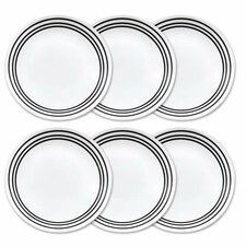 "Livingware 10.25"" Dinner Plate set (Set of 6)"