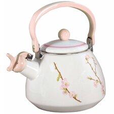 Cherry Blossum 2.2-qt. Whistling Tea Kettle