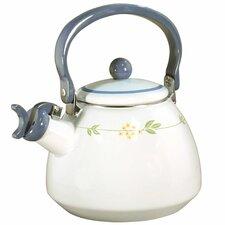 Livingware Secret Garden 2.2-qt. Whistling Tea Kettle