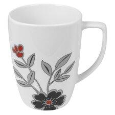 Mandarin Flower 12 oz. Mug (Set of 4)