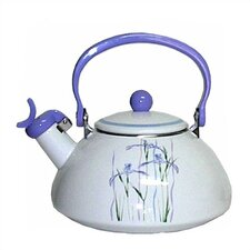 Impressions Shadow Iris 2.5-qt. Whistling Tea Kettle