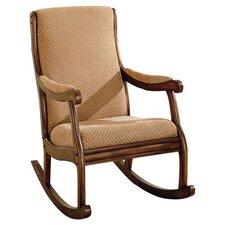 Rocking Fabric Arm Chair