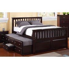 Barchan Twin Slat Panel Bed