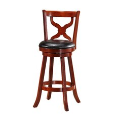 "Monark 29"" Swivel Bar Stool with Cushion"