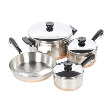 1400 Line Stainless Steel 7 Piece Cookware Set