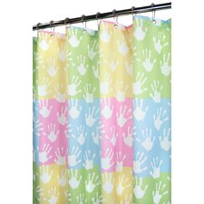 Prints World Hands Shower Curtain